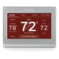 Honeywell RTH9585WF1004 Wi-Fi Smart Color 7 Day Programmable ...