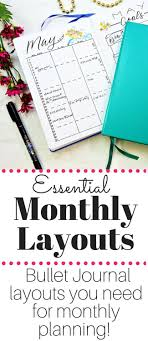 monthly planning guide bullet journal monthly spreads the ultimate guide to rock your