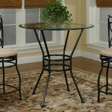 36 round dining table glass