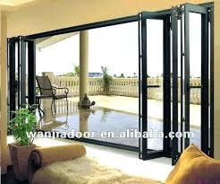 exterior glass accordion doors aluminium glass door exterior folding glass doors cost