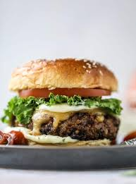 this is the best ever veggie burger and that is not an exaggeration it s delicious