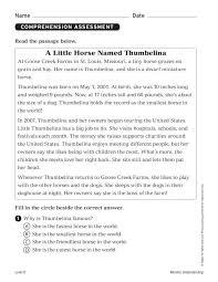A Little Horse Named Thumbelina