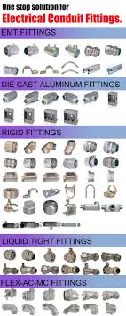 Conduit Fittings Chart Hot Dipped Galvanized Electrical Steel Emt Pipe Sizes Ul