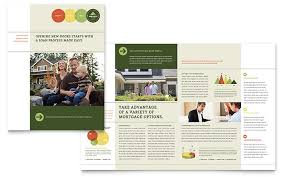 Mortgage Broker Brochure Template Word Publisher