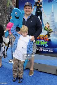 March 22, 2009 Universal City, Ca.; Andy Richter and son William ...