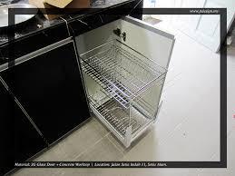3g glass door kitchen cabinet 15d