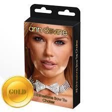 <b>Ожерелье</b>-<b>бабочка</b> из блестящих кристаллов золотое <b>Ann</b> ...
