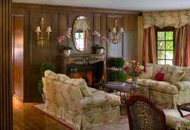 inviting traditional living room