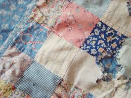 How to Wash a Dirty Old Quilt | Stuff After Death & ... hide & go seek quilt 1 Adamdwight.com