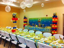 Spongebob Bedroom Decorations Spongebob Party Love The Bubbles Birthday Party Ideas