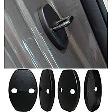 8x sd 4pcs car styling accessories car door striker cover for audi a1 a5 a3