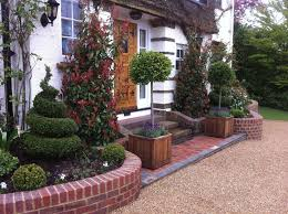 Decoration Adorable Front Gardens Designs Engaging Front Garden Awesome Exterior Garden Design
