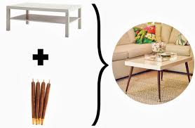 mid century modern chairs ikea. ikea hack - diy mid-century modern coffee table by triple max tons 3e- mid century chairs w