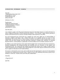 Cover Letter Internship In A Bank Piqqus Com