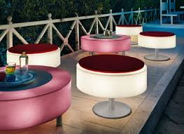 light up patio furniture by modoluce