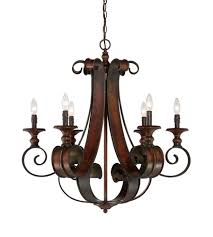 craftmade 28026 spz seville 6 light 30 inch spanish bronze chandelier ceiling light photo
