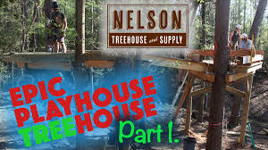 Summer Camp Treehouse Part 1 YouTube