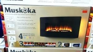 full size of muskoka 28 electric fireplace insert manual not heating in freestanding extraordinary inte costco