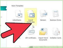 How To Print Certificates In Word – Echotrailers