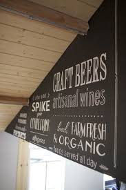 Design Your Own Spikes Custom Chalkboard Sign Painting For An On Site For A Local