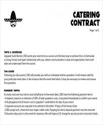 Catering Proposal Letter Best Download Our Sample Of 44 Sample Catering Proposal Letters Pdf Doc