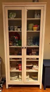 fantastic hemnes glass door cabinet