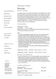 Sample Resume For Restaurant Server Inspiration Food Service Skills Resume Colbroco