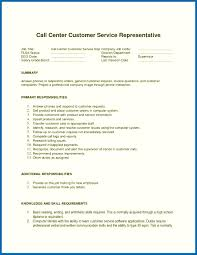 Computer Literacy Skills Examples For Resume Resume Skills Examples Call Center Resume Examples For Call Center 30