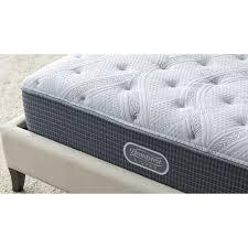 Beautyrest mattress Black Walmart Simmons Beautyrest Silver Plush Mattress Crate And Barrel