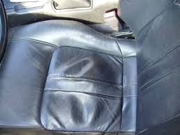 auto leather seat repair such deformations are normal in the area of older cars tape car