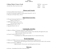 Sorority Resume Template High School Resume Template For Collegecation Rare Example 60