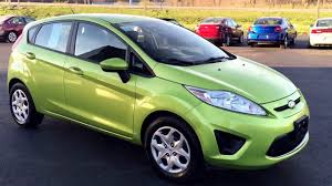 2011 Ford Fiesta green salvage near Pittsburgh pa - YouTube
