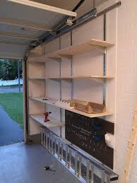 wall mounted garage shelves diy 54 best garage wall ideas images on