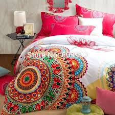 bohemian bedding set style bed red and purple duvet cover queen comforter twin xl