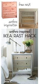 furniture hack. anthropologie inspired ikea rast dresser hack furniture