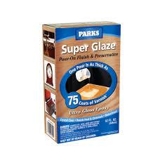 gloss super glaze finish and preservative