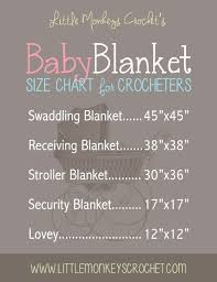 What Size Is A Crochet Baby Blanket Includes An Easy