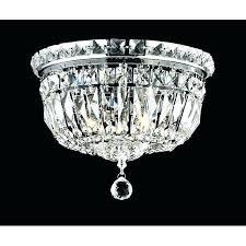 small flush mount chandelier mini crystal lighting design ideas semi bathroom lighti
