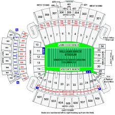 Williams Brice Stadium Seating Chart South Carolina Gamecocks 2014 Football Schedule