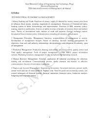 industrial economics and management lab manual