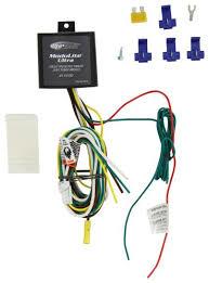 compare modulite ultra vs universal installation etrailer com  at 2004 Ranger Plastic Retainer For Firewall Rubber Wire Harness Boot