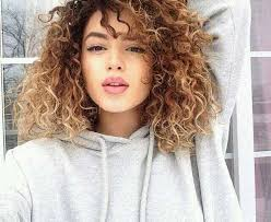 good haircut for ombre curly hair