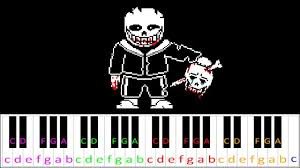 Sheet music is just strings of notes that are written on. Megalovania Undertale Hard Version Piano Letter Notes