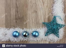 Weihnachtsstern Und Weihnachtskugeln Türkis Auf