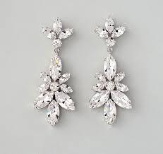 vintage style leandra best 25 bridal chandelier earrings ideas on
