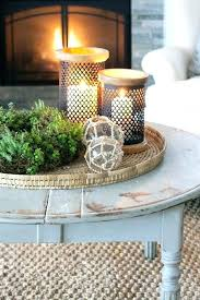 round or square coffee table decor creative of trays for tables with best tray ideas storage
