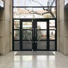 Portes Du0027entrée Vitrées Avec Dormant En Aluminium Soudé | K190 Porte Grand  Trafic Et Grande Dimension