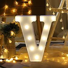 amiley light up letters diy led decorative a z marquee alphabet letter lights sign party wedding anniversary decoration wall decor light v