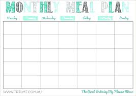 Life Planning Templates Printable Meal Planning Templates To Simplify Your Life Plan