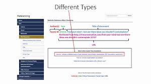 Referencing Web Resources Using Apa